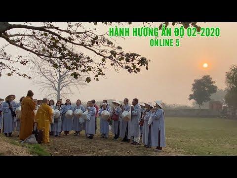 Đoàn hành hương Đạo Phật Ngày Nay tham quan tháp Angulimala