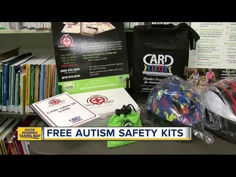 USF helps local families by giving away Autism & Safety kits