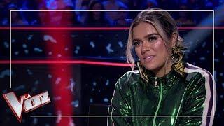 Eva González Praise Karol G   Moments   The Voice Of Spain Antena 3 2019