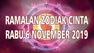 Ramalan Zodiak Cinta Rabu 6 November 2019