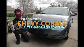 2005 - 2007 Chevy Cobalt / Pontiac G5 /Saturn Ion Alternator Replacement