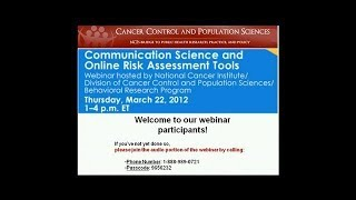 Communication Science And Online Risk Assessment Tools