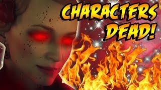 MAXIS KILLED THE SHADOWS OF EVIL CHARACTERS! Secret Portal Easter Egg! Black Ops 3 Zombies Storyline