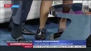 KTN Show hosts exchange shoes live on air