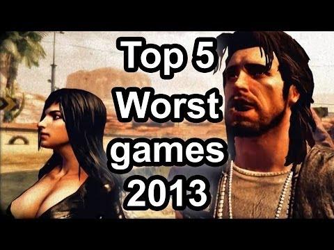 Nejhorší hry roku 2013