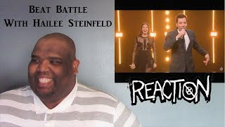 Beat Battle With Hailee Steinfeld   NTX React's