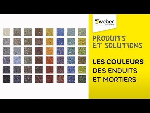 Les nuances de couleurs des enduits et mortiers | Weber