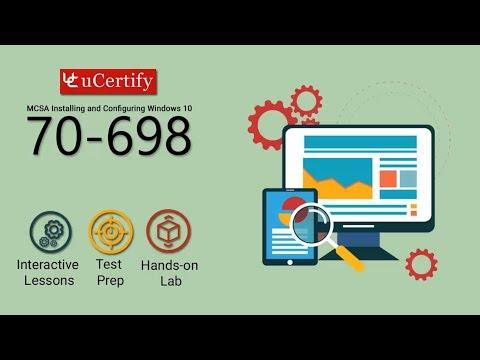 70-698: Microsoft MCSA Windows 10 Exam Guide - YouTube