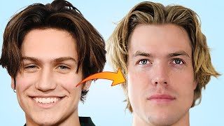 How To Get The E-Boy Hairstyle (Middle Part Hairstyle)
