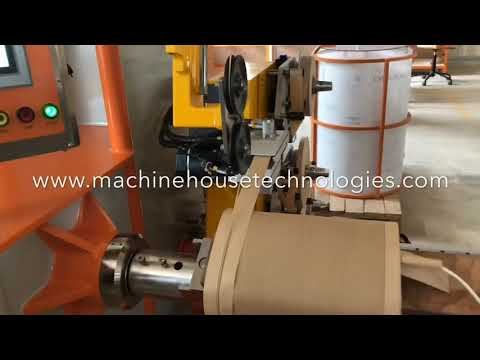 AGI-0815 Automatic Graded Insulation Distribution Transformer HV Coil Winding Machine