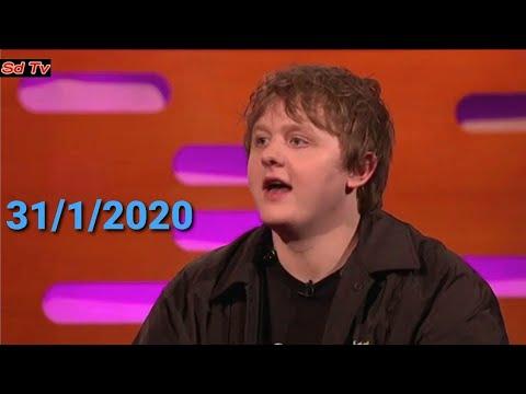 Lewis Capaldi perform 'Before You Go' LIVE BBC Graham Norton Show 31 January 2020