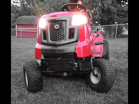 Troy-Bilt Bronco 17-HP Automatic 42-in Riding Lawn Mower Review