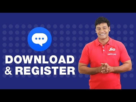 How to download and register on JioChat?
