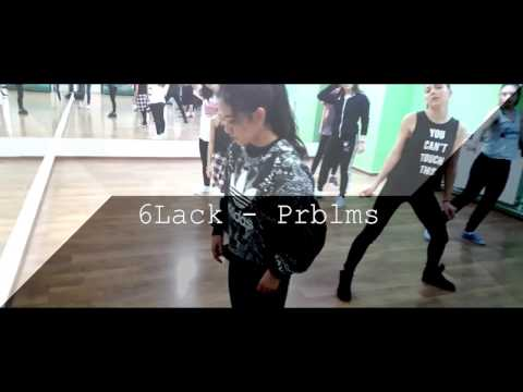 TIFFANY YONASHIRO 2nd Workshop | 6Lack - Prblms | Total Dance Center