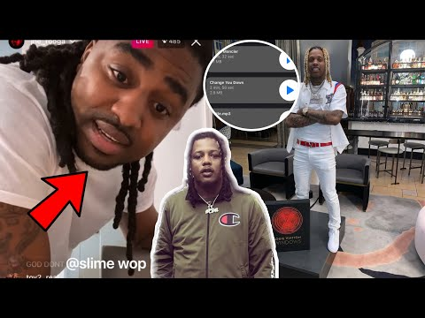 FBG Duck Cousin Rooga Confronts Lil Durk After D!sing Him In Leaked Song!?