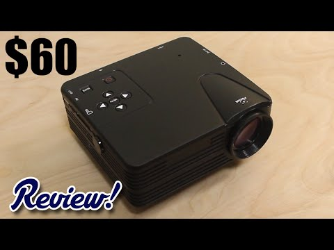 Is This Cheap $60 Chinese Projector Worth It? Mp3