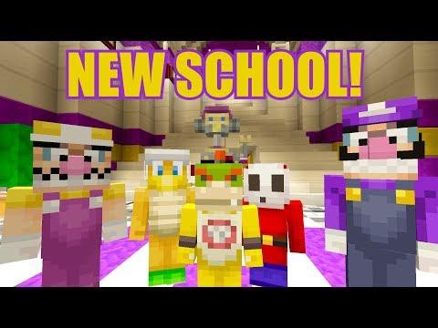 Bowser Jr Goes To High School! [NEW SCHOOL] - Nintendo High