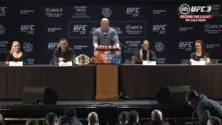 UFC 231: Pre-fight Press Conference