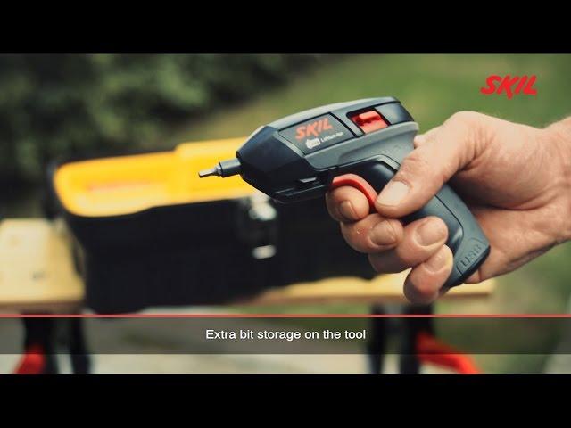 Video ATORNILLADOR BATERIA SKIL 2636AD F0152636AD