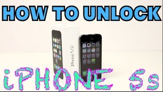 How to Unlock iPhone 5s ANY CARRIER (Sprint, Verizon, AT&T, T-Mobile, Boost Mobile, Cricket, ETC)