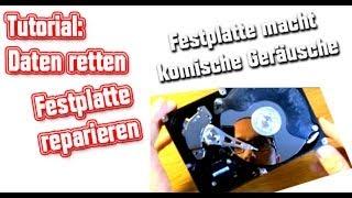 Festplatte reparieren-Daten retten(Festplatte macht Geräusche und wird nicht erkannt)