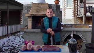 ПЕЧЕНЬ, СЕРДЦЕ, ПОЧКИ. КОЛБАСА по-Кавказски. ENG SUB.