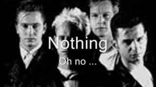 Depeche Mode, Nothing