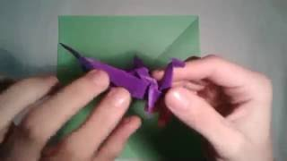 How to make an easy origami dragon step by step By Art and Carft