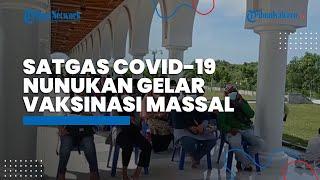 Satgas Covid-19 Nunukan Gelar Vaksinasi Massal, Targetkan 900 Orang Sektor Pelayanan Publik