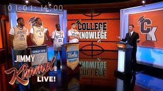 NBA Stars Play College Knowledge