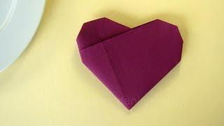 new video servietten falten rose bl te blume. Black Bedroom Furniture Sets. Home Design Ideas