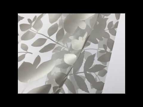 Gardine Giuliano - floraler Ausbrenner von Jab Anstoetz Fabrics www.gardinen-sauer.de