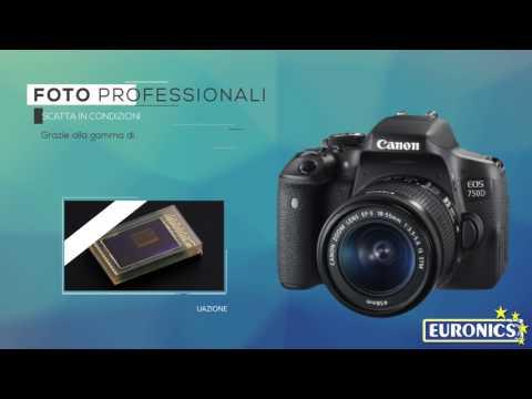 CANONEOS 750D + EF-S 18-55Black