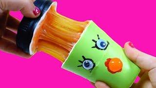 스퀴시 좀비! 커피 좀비 액괴 스퀴시 만들기 - DIY Squishy Zombie Coffee Slime