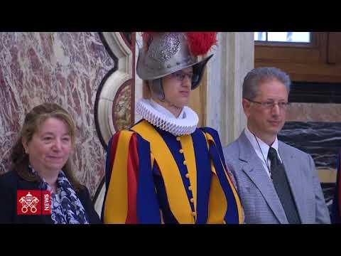 Påven till Schweizergardet: Hemligheten med er effektivitet är Kristus