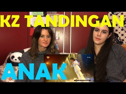 REACTION TO KZ TANDINGAN SINGING ANAK | Singer 2018