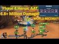 Star Wars Galaxy of Heroes: Phase 4 Heroic AAT 6.8+ Million! (World Record!?)