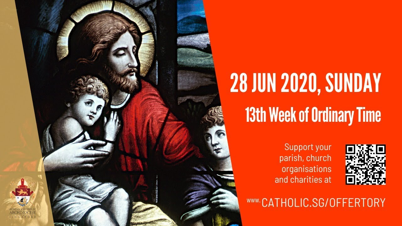 Catholic Sunday Mass Today 28th June 2020 Live from Archdiocese of Singapore
