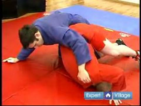 Advanced Sambo Martial Arts : The Rolling Knee Bar Move in Sambo Martial Arts
