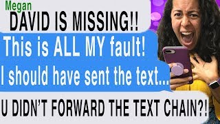 What Happens When You DON'T FORWARD CHAIN MESSAGES?! ( Don't Ignore Marry | Cliffhanger Scary Text)