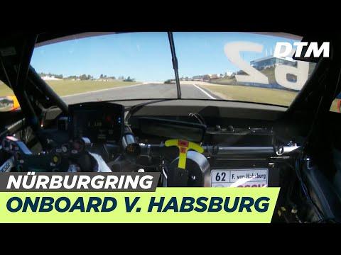DTM Nürburgring 2019 - Ferdinand Habsburg (Aston Martin Vantage DTM) - RE-LIVE Onboard (Race 1)