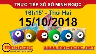 Xổ số Minh Ngọc™ Thứ Hai 15/10/2018 - Kênh chính thức từ Minhngoc.net.vn