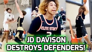 JD Davison With The POSTER OF THE SUMMER!? Terrorizes Defenders & Averages 30+ Points Over Weekend 😈