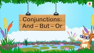 Conjunctions And - But - Or | English Grammar | Periwinkle