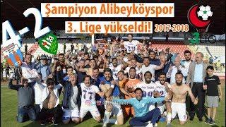 Alibeyköyspor 3. Lige yükseldi! (Alibeyköyspor 4-2 Altınova Belediyespor)