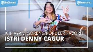 Nikmati Ayam Goreng Murah dan Populer di Garut, Penjualnya Mirip Artis FTV