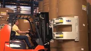 Cascade Paper Roll Clamps - Lift Truck Roll Handling