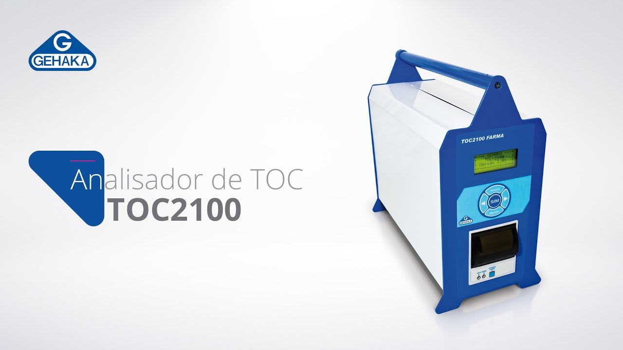 Video de demonstração do TOC2100 FARMA