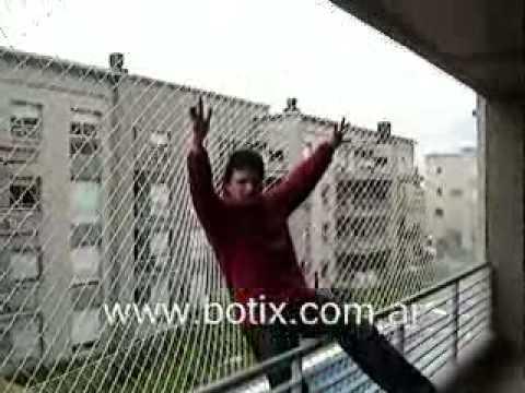 www.botix.com.ar Protección para balcón con red