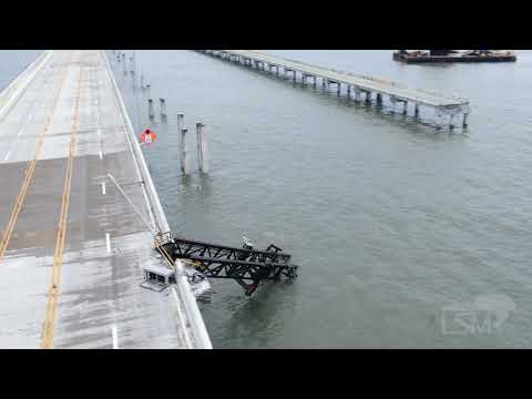 Pensacola Bay Bridge Damage – Hurricane Sally